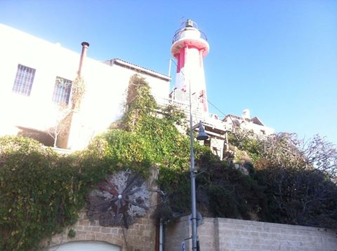 The lighthouse in Yaffa