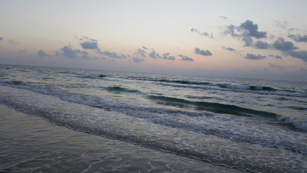 """Poleg Beach"