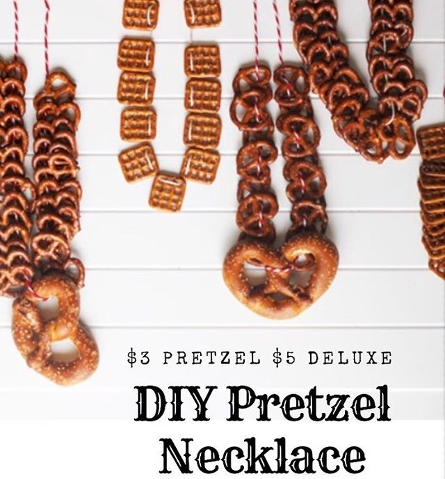 Yeah, we know some of you will come prepared, but if you're not— never fear! 🥨🍻@craftymart is making sure you can make your own pretzel necklace! (Or have them make you one 🤫) #DIYlife #beerfest #akronalefest