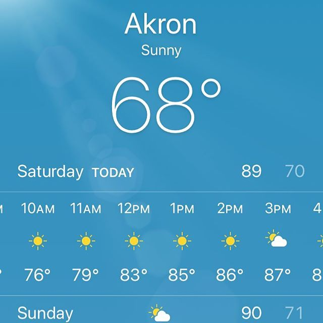 It's a perfect day for a beer fest!!! #craftbeer #localbeer #akronalefest