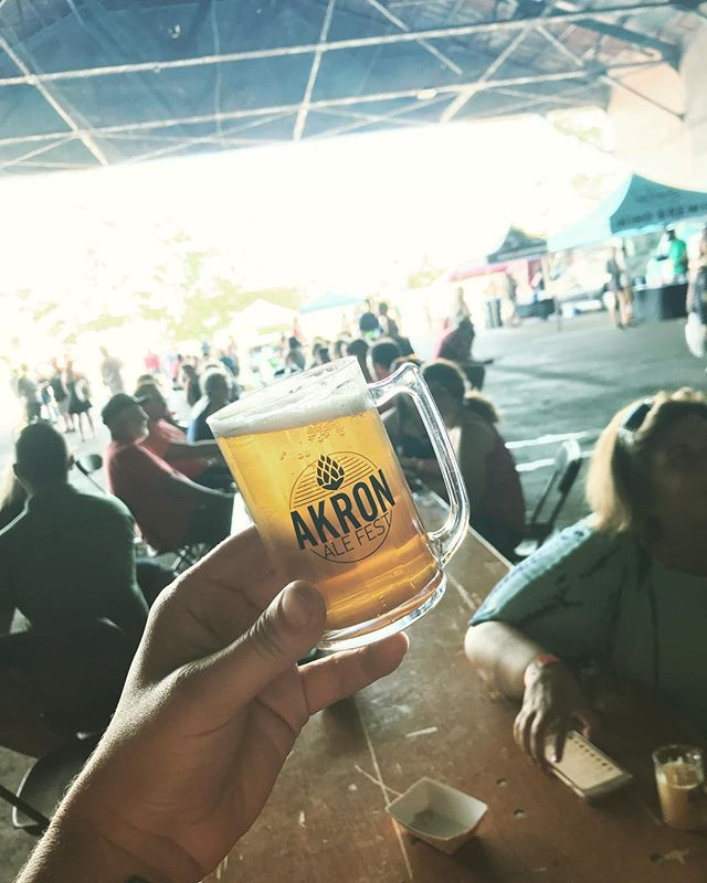 Thanks to everyone who came out to Akron Ale Fest yesterday! What was the best beer you tried?! 🍻