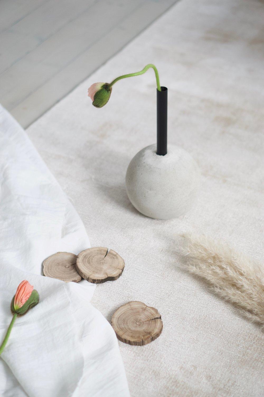 Egentillverkad vas , artikel publicerad i Houzz 2017. Idé, styling och foto.