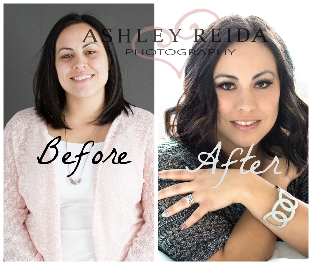 """(I was concerned that) I wouldn't be able to relax enough to model...We laughed and had fun. She (Ashley Reida) made it easy to relax and enjoy my session. She takes beautiful photos and is so easy to work with!"" -Donna Jones (wife, mother, paraprofessional, and founder of GOLD)"