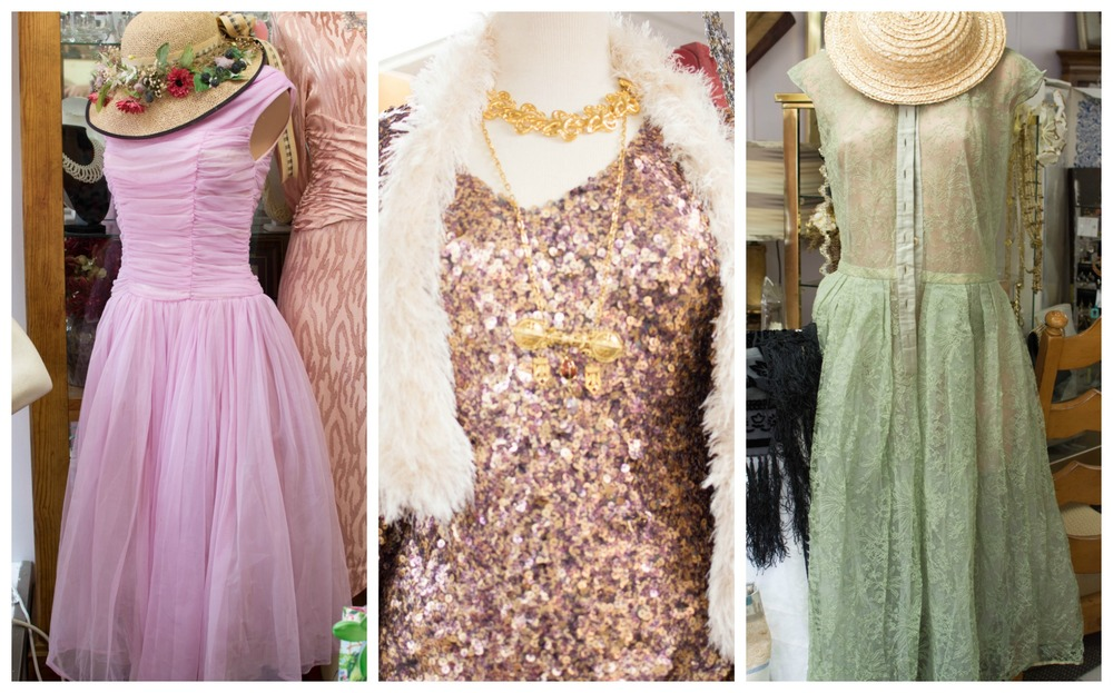 A few of the vintage looks I loved in the store!