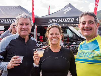 Outerbike includes AFternoon Beer Gardens for those 21+