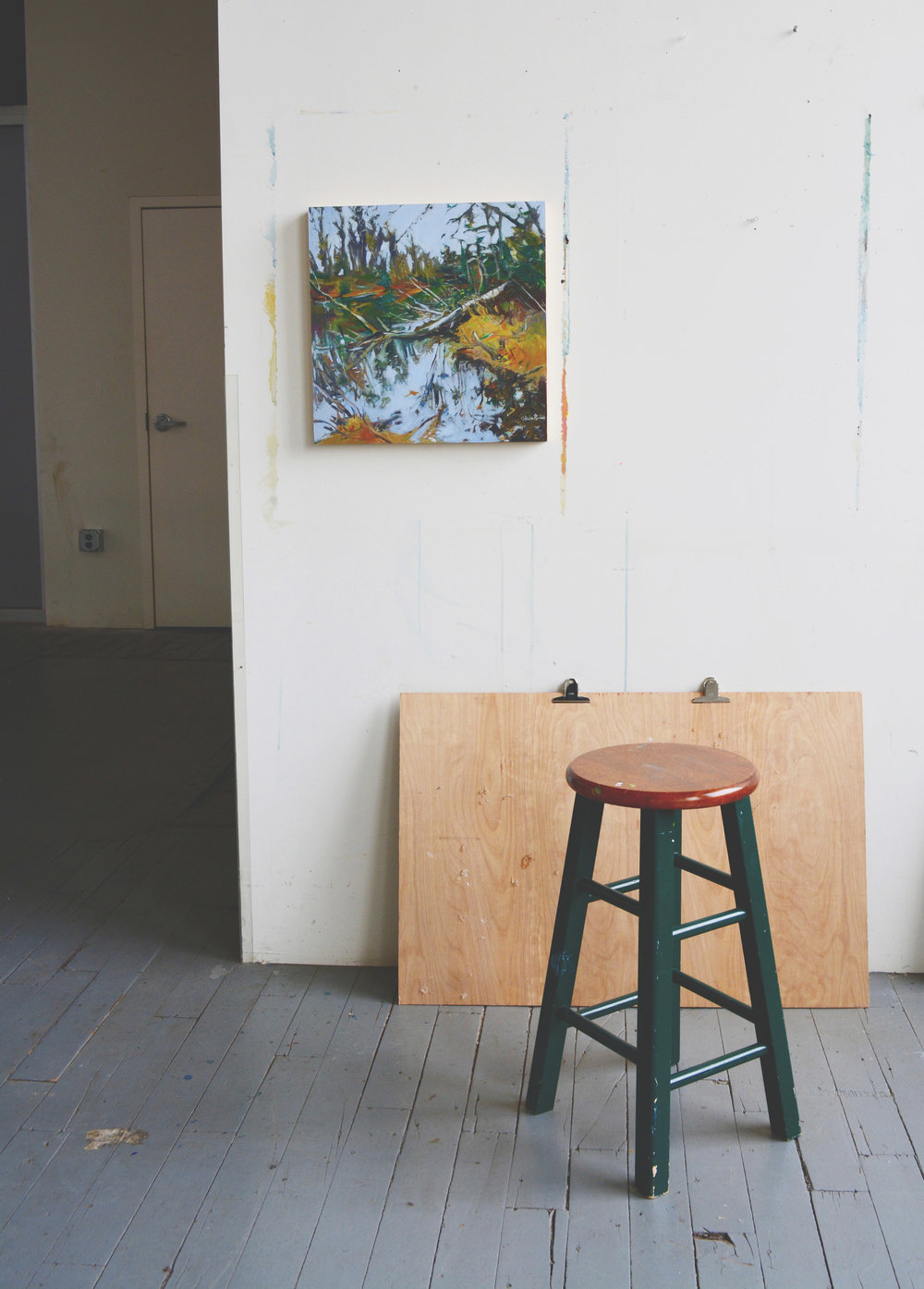 Private Buyer - Paintings are often bought right out of the studio or from the local gallery by individuals desiring to add to their art collection.