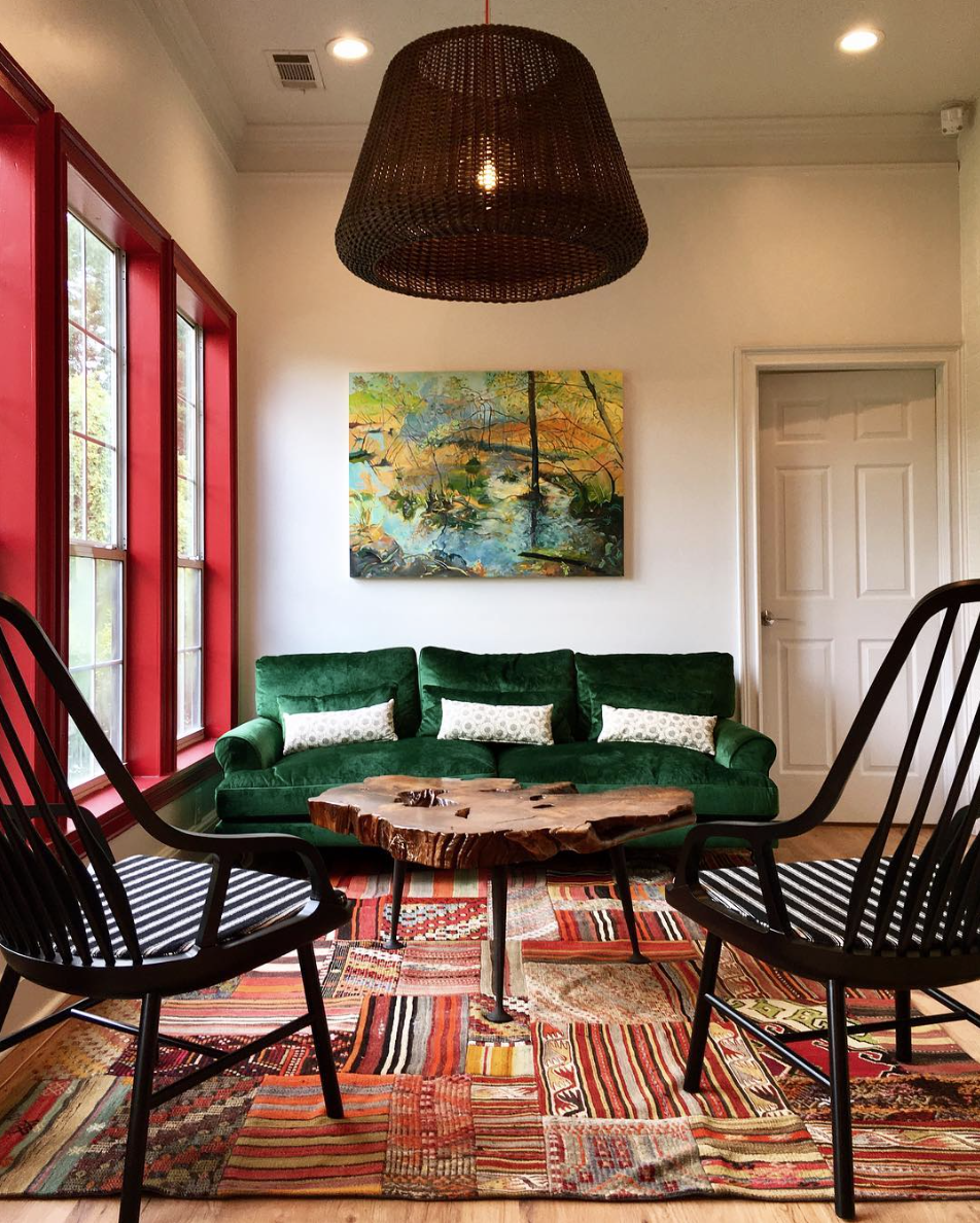 Art Consultants - Working with a professional team to create the best work for a specific location, including following the requests of color scheme from the interior designer.