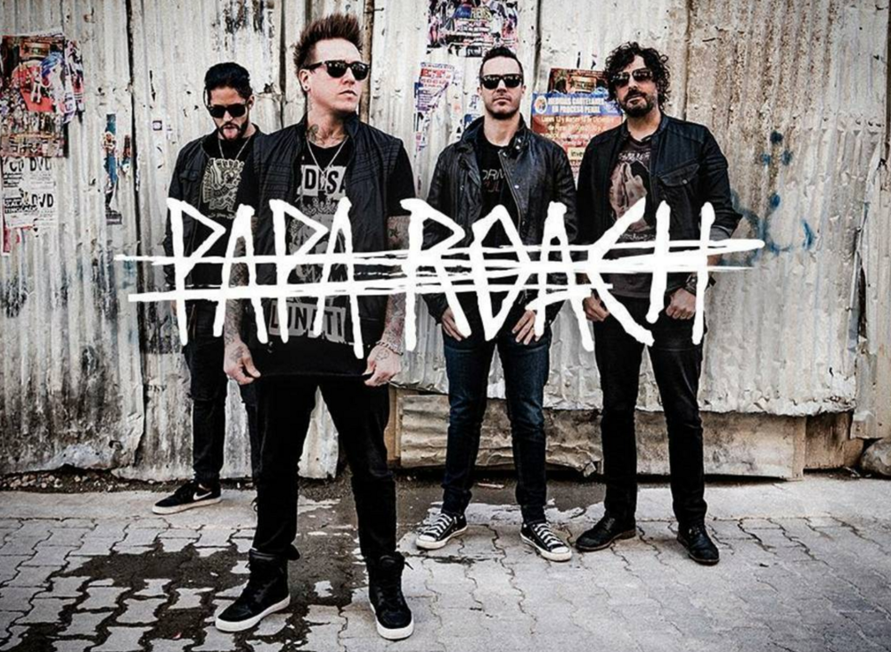 Photo courtesy of @paparoach on Instagram