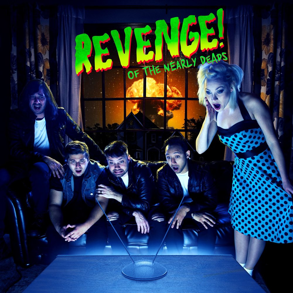 Image: REVENGE! of The Nearly Deads; new EP artwork. Courtesy of their Facebook page.