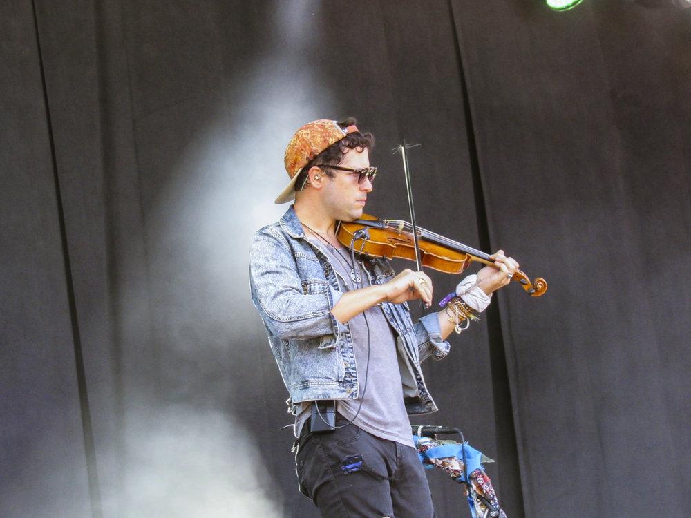 Zambricki performing at Arroyo Seco Weekend