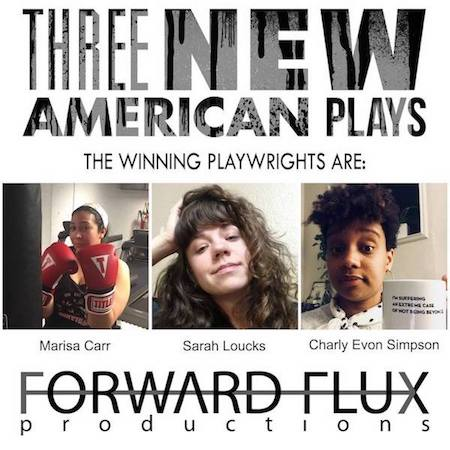- Sarah's new play MOAB will be produced by Forward Flux Productions as part of their Three New American Play Festival in October of 2019! MOAB is a piece of investigative theater addressing the war in Afghanistan, violence, and friendship. Sarah is currently interviewing active duty military and veterans for the project.