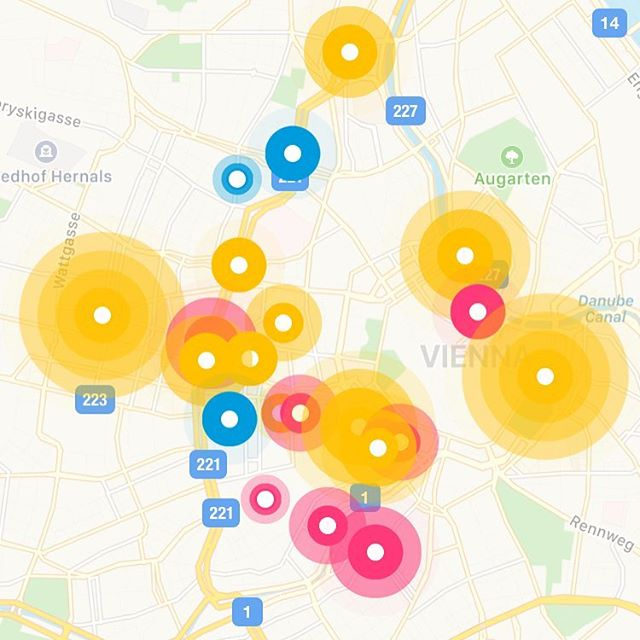 Bissl was los heut in Wien auf unserer App 😊 #bloom #bloomapp #party #partyapp#wien#vienna#openair#electricspring#appdesign#freeparty