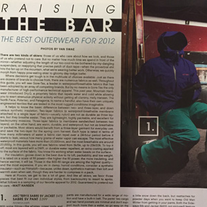 Arc'teryx Sabre Jacket & Pant – Powder Magazine 2011