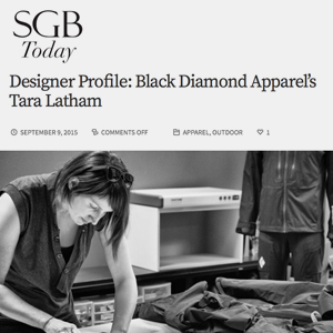 Designer Profile – SGB Weekly 2015