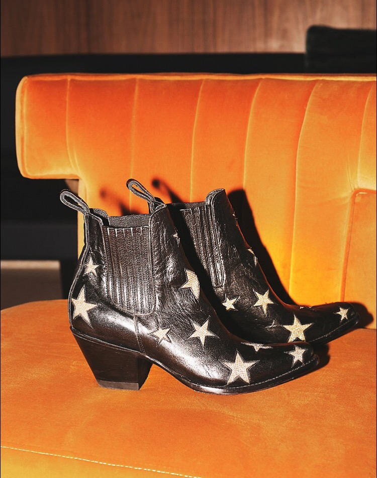 """Reach For The Stars Ankle Bootie"" by Mexicana, as seen at freepeople.com --  $458"