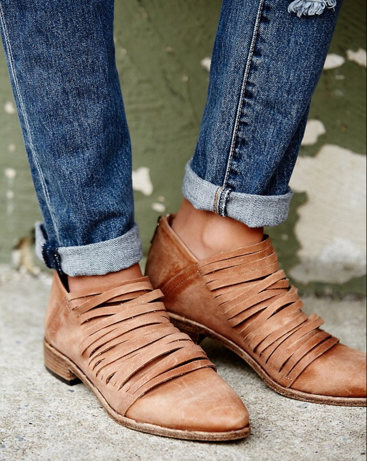 •Lost Valley Ankle Boot from the FP Collection, as seen on freepeople.com: $178