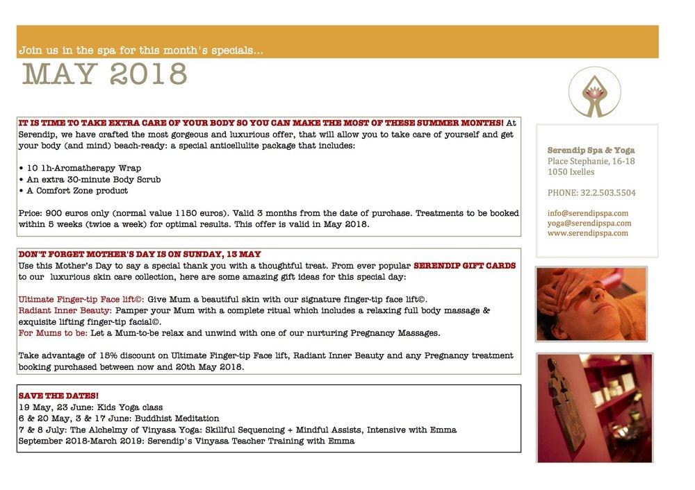 serendip spa and yoga calendar 2018_May A4 Back.jpg