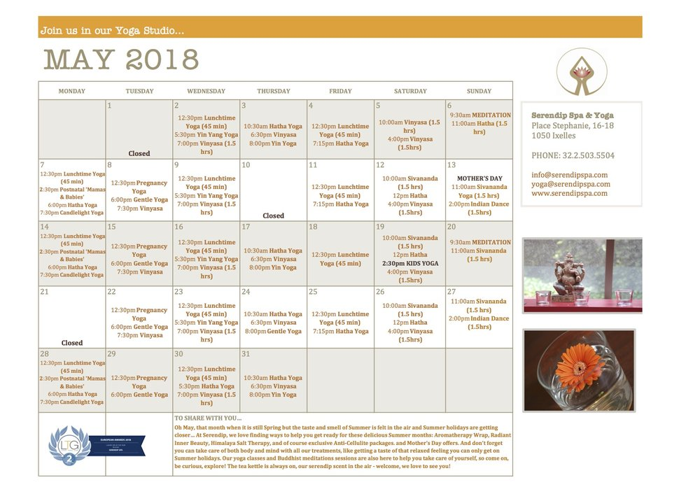 serendip spa and yoga calendar 2018_ May A4 Front.jpg