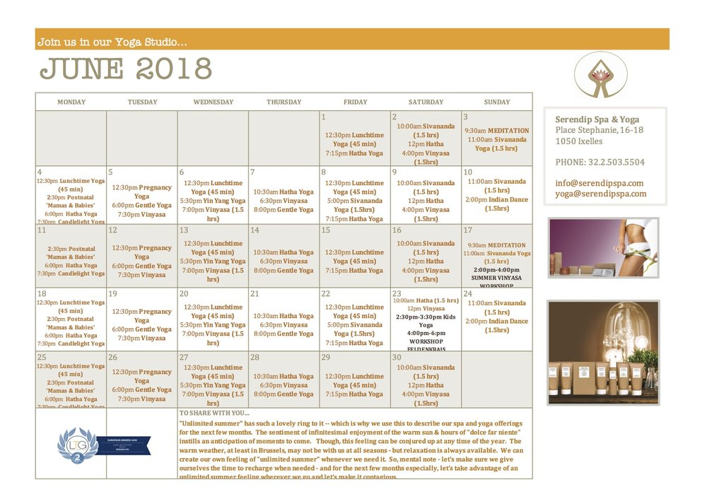 serendip spa and yoga calendar 2018 _June A4 FRONT.jpg
