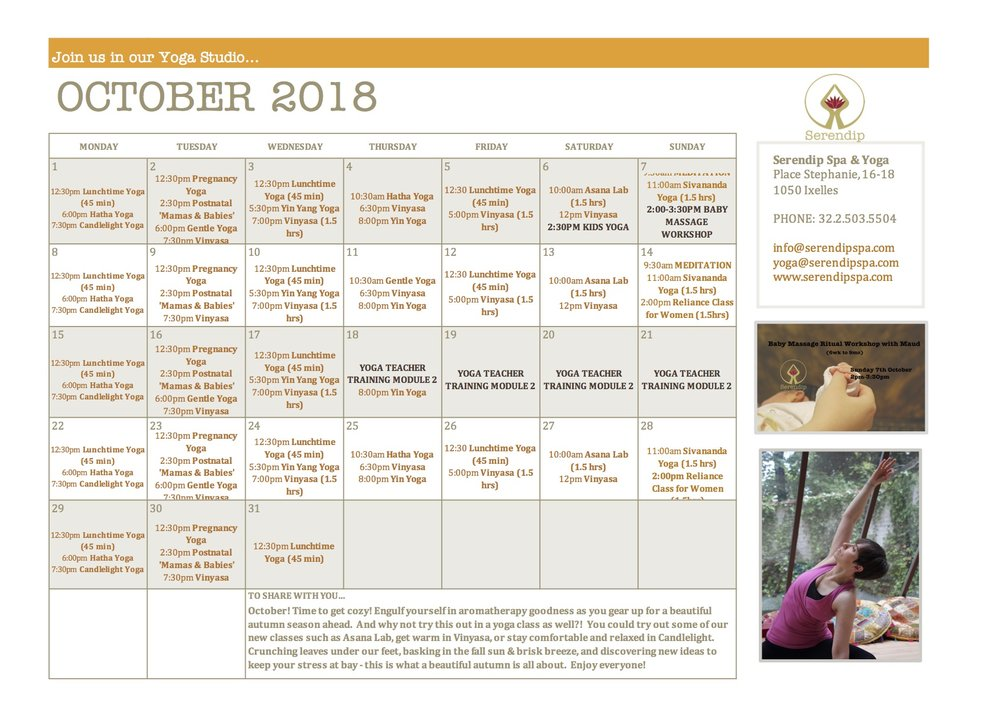serendip spa and yoga calendar 2018_October A4 FRONT.jpg