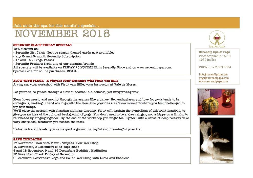 serendip spa and yoga calendar 2018_November A4 BACK.jpg