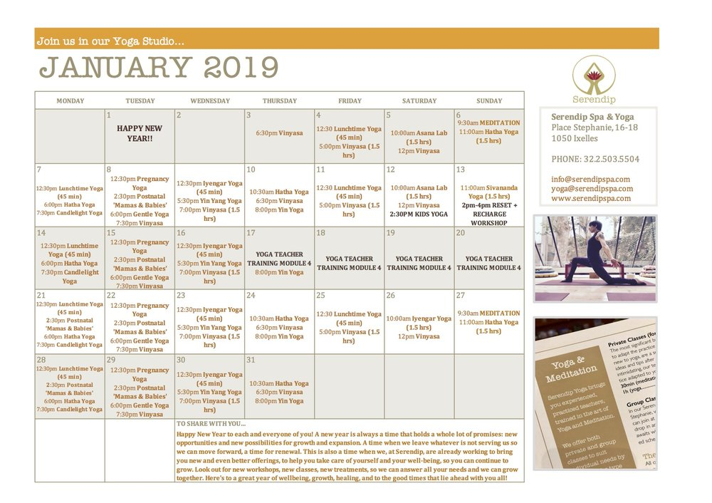 serendip spa and yoga calendar 2019_January A4 FRONT.jpg