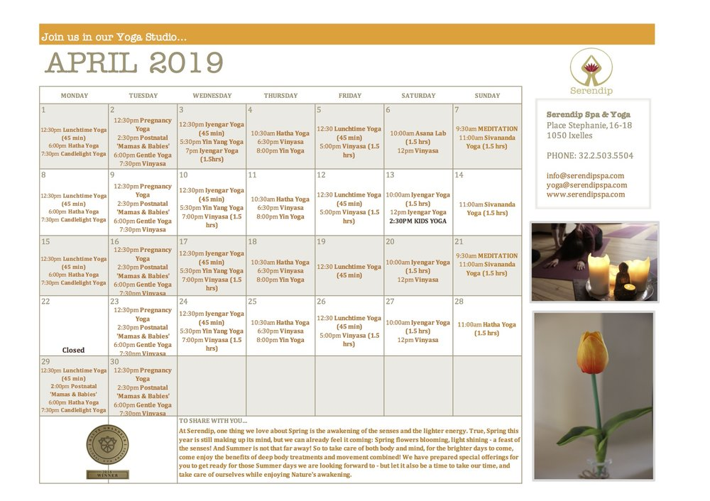 serendip spa and yoga calendar 2019_April A4 FRONT.jpg