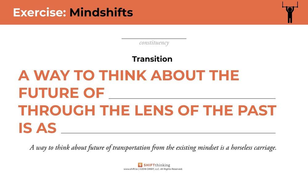 Mindshifts worksheet 2