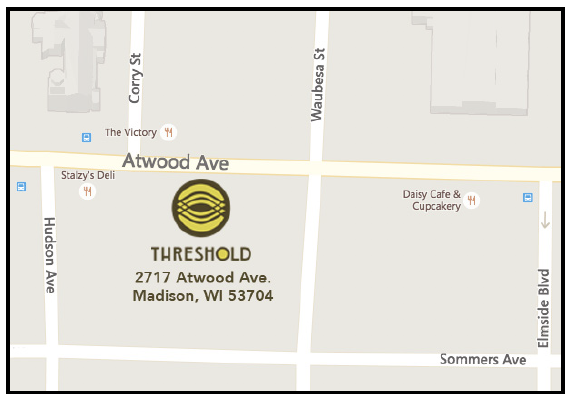 We are located at 2717 Atwood Avenue on the near east side of Madison