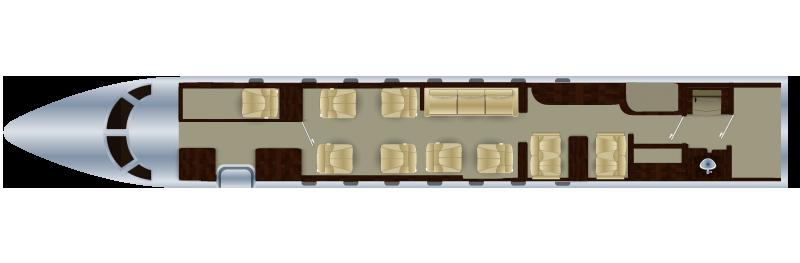 Gulfstream G550 V2jets