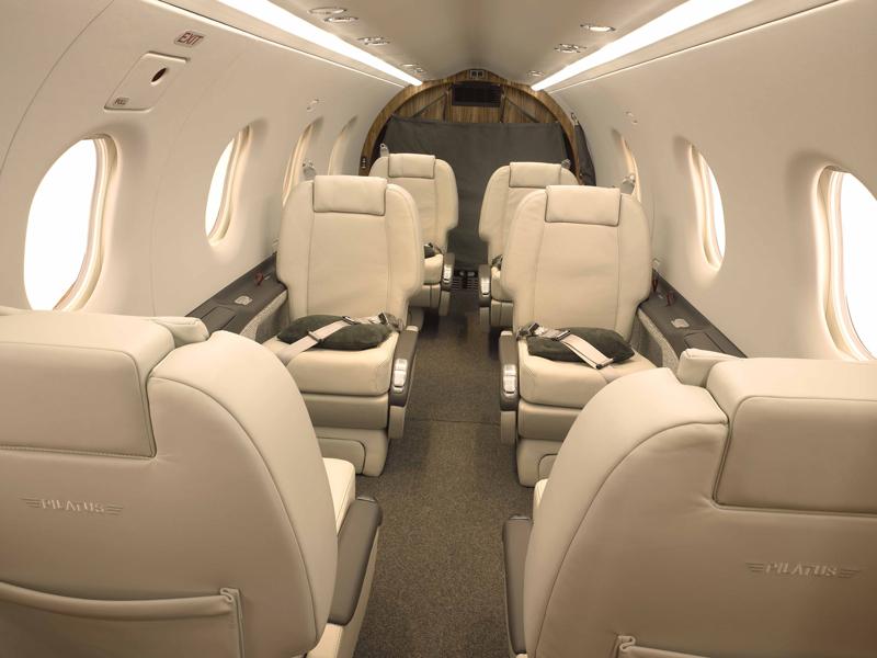... Pilatus PC-12 Interior.jpg