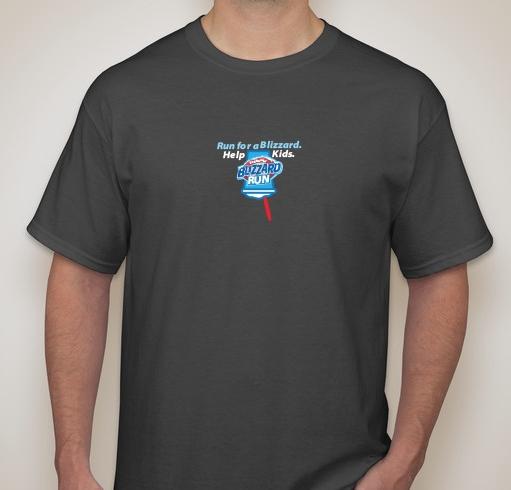 2017 Men's Blizzard Run Shirt - sizes run true to size