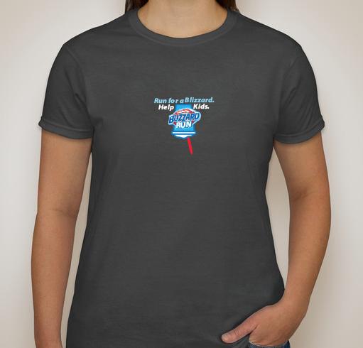 2017 Woman's Blizzard Run Shirt - sizes run small
