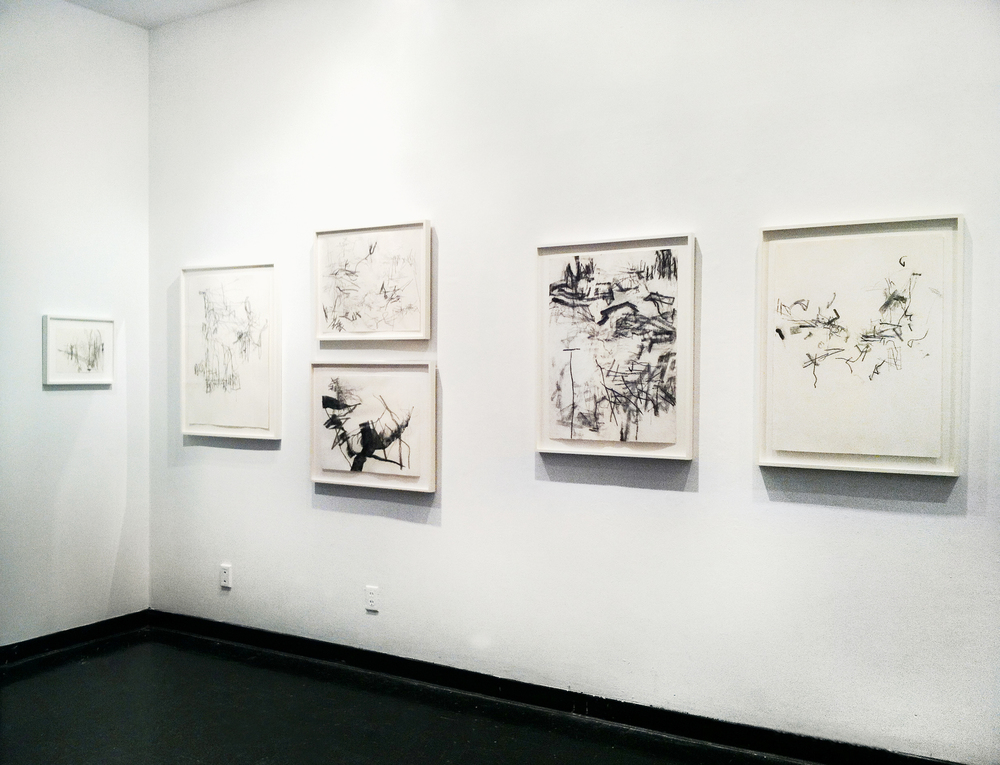 works on view in    Drawing First and Last,     University of the Arts, Philadelphia, 2015