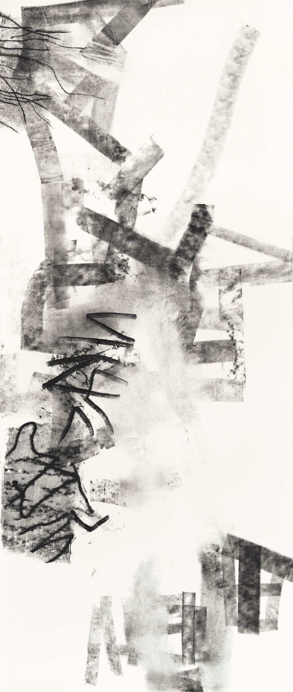 Untitled (rdl.12.13), 2012 ink and graphite on paper 50 x 42 inches