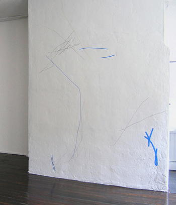 Wall Drawing for   Margarete Roeder Gallery    New York NY ,  2005