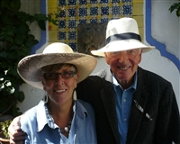 Prue and Ernest in Mexico, 2008