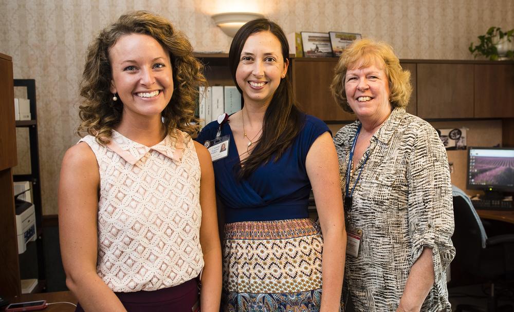 Catawba Regional Hospice's Foundation staff