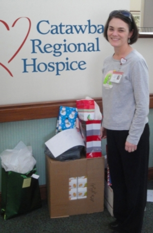 Catawba Regional Hospice social worker Tonya Church.