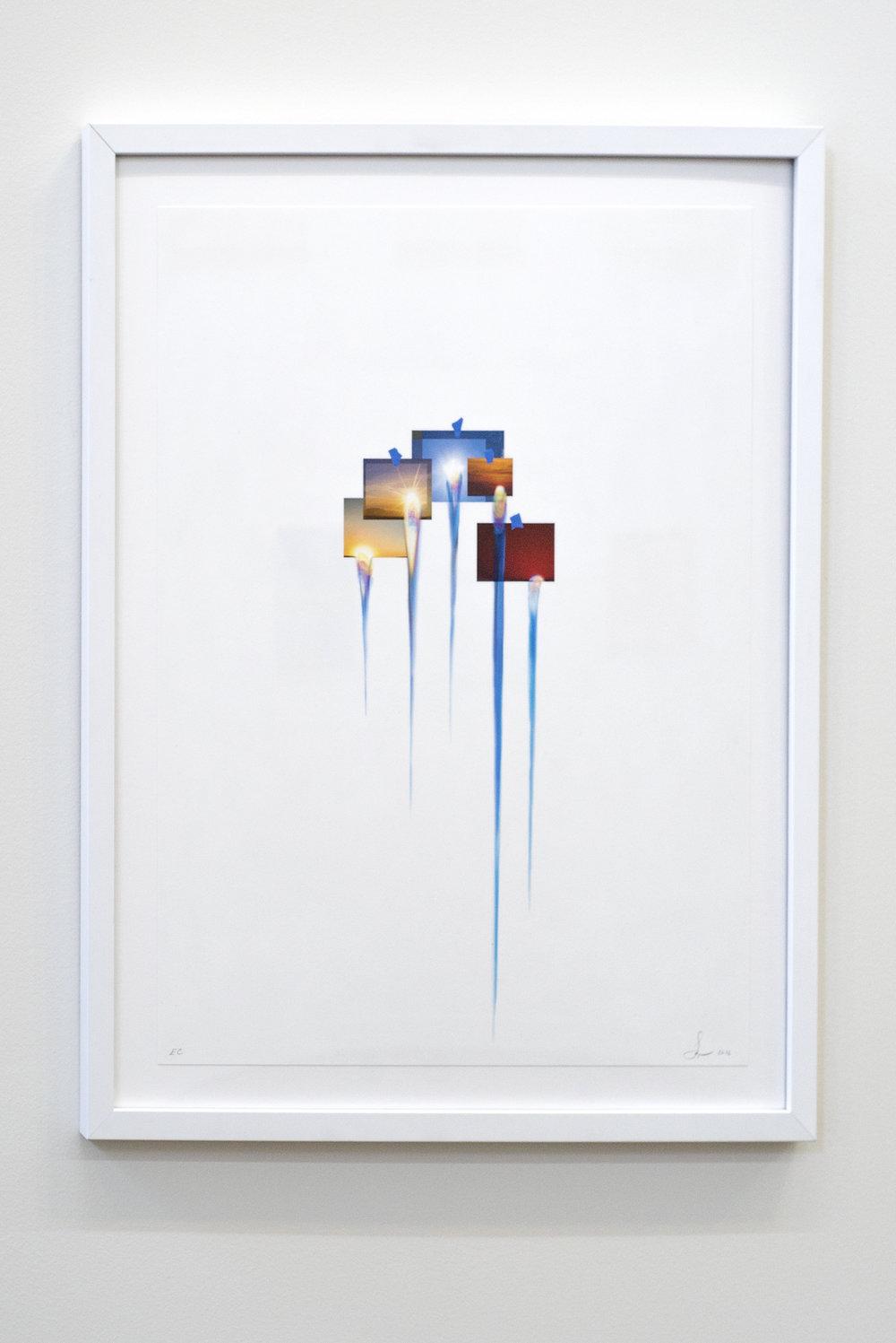 'Images in Debris'Sarah Sze, 2016.