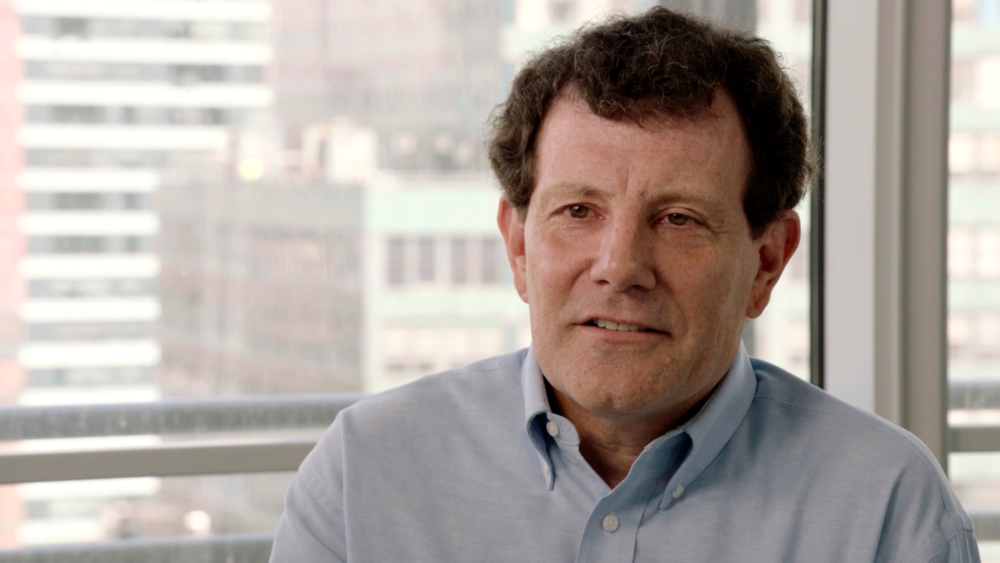 Nicholas Kristof, Pulitzer Prize for International Reporting and Commentary, 1990 & 2006