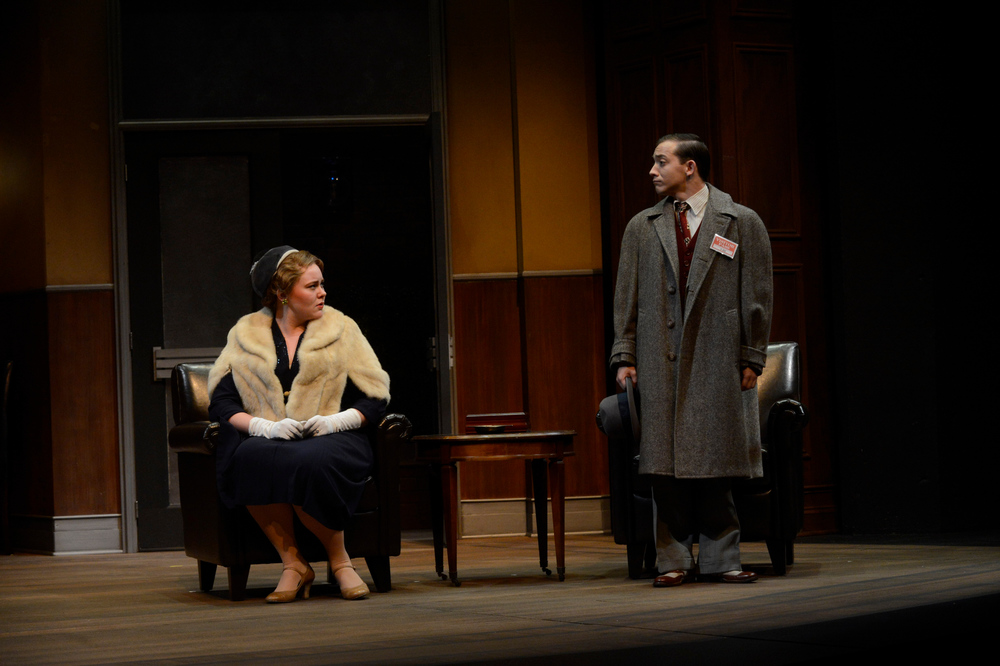 Cassi as Betty Chumley in  Harvey  at Wright State University