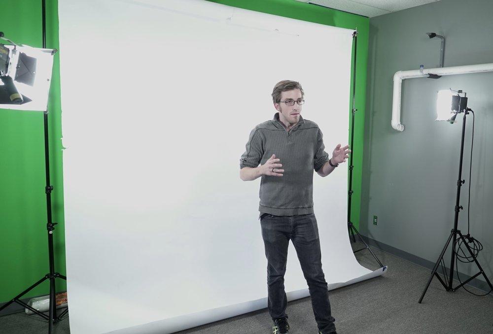 Bryce in Studio