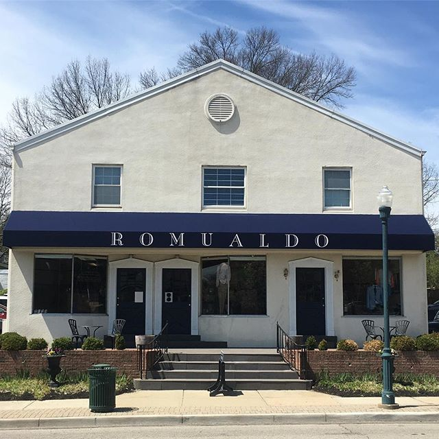Nothing better than sun on a spring time Saturday at Romualdo. Stop in and say hi. We're here until 5!