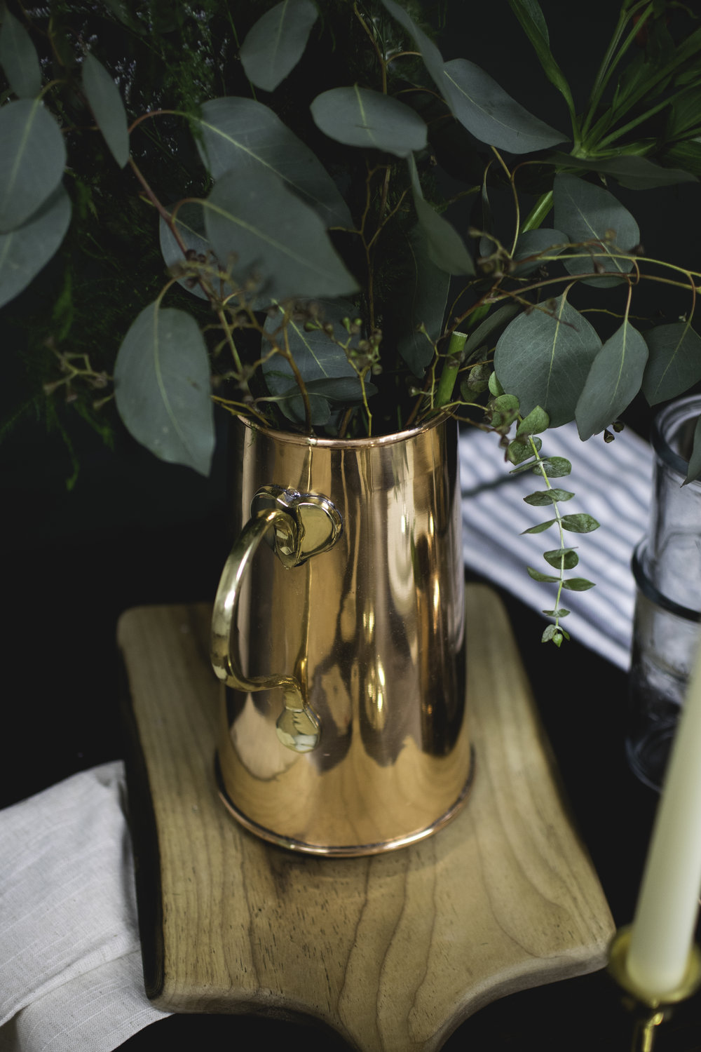 Copper Water Jug - $54.00