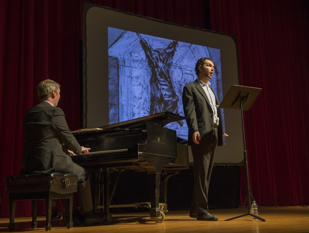 Schubert's  Die Winterreise  l Singing the Image with William Kentridge