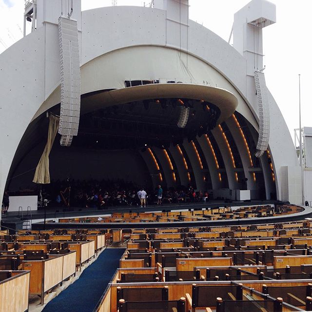 Great dress rehearsal today with the LA Phil.  It's going to be a great La Traviata at the Hollywood Bowl! So excited!