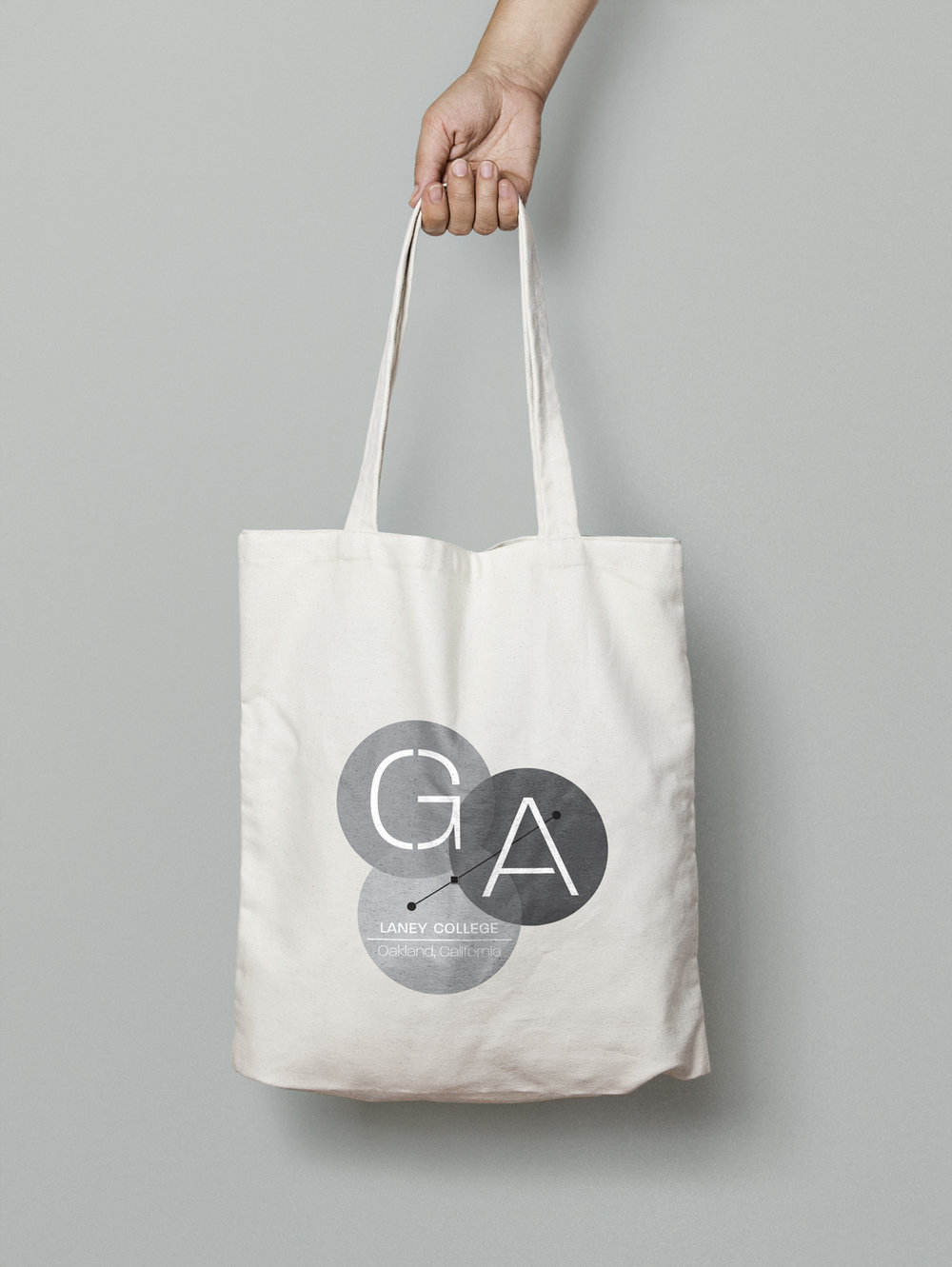 brand identity canvas tote bag design