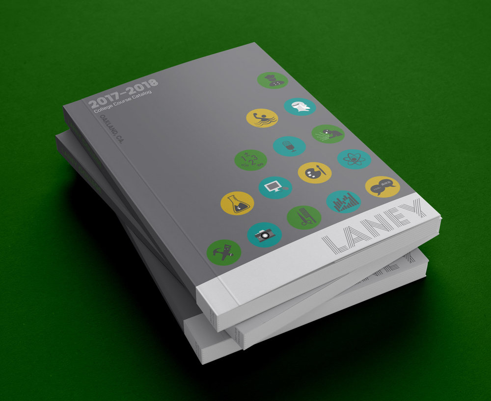 book cover catalog design
