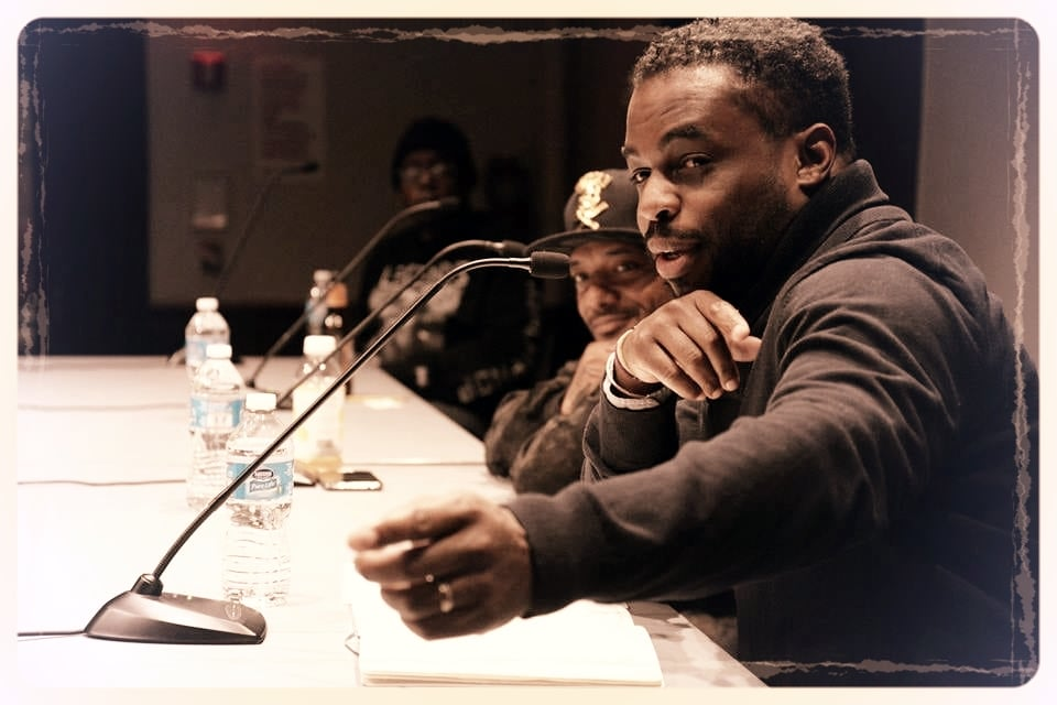 Wes with Prodigy on panel at BHS.jpg